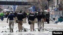 На місці вибуху в Бостоні