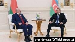 İlham Əliyevlə Aleksandr Lukashenkonun görüşü. 28noy2016