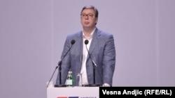 Predsednik Srbije i lider Srpske napredne stranke Aleksandar Vučić