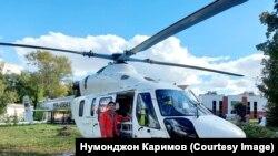 Более богатые районы имеют свой вертолет
