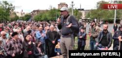 Ermənistan - Müxalifətin 14 aprel mitinqi, Yerevan