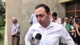 Переизбранный мэр Абовяна Ваагн Геворкян беседует с корреспондентом Радио Азатутюн, 10 июня 2019 г․