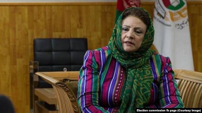 حوا علم نورستانی رئیس کمیسیون انتخابات افغانستان