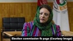 حوا علم نورستانی رئیس کمیسیون مستقل انتخابات