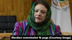 د افغانستان د انتخاباتو د خپلواک کمېسیون رئیسه حوا علم نورستانۍ