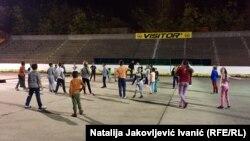 Hokej na suvom u Subotici