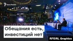 Ялтинский форум. Обещания есть, инвестиций нет | Радио Крым.Реалии