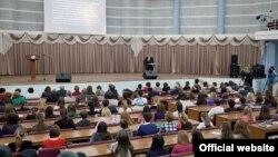 Чыңгыз Айтматовның 85 еллыгына башгышланган конференция. Казан федераль университеты, 25 октябрь