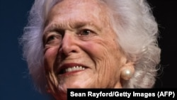Barbara Bush, imagine de arhivă.