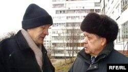 Зиннур Әһлиуллин (с) һәм Милли Мәҗлеснең элекке рәисе Илдус Әмирханов