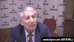 Замминистра экономики Армении Гарник Бадалян, Ереван, 16 июня 2014 г․