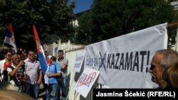 Protest u Mitrovici