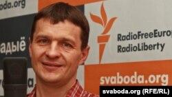 Алег Воўчак у студыі Радыё Свабода, 15 чэрвеня 2012