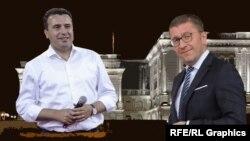 Зоран Заев и Христијан Мицкоски
