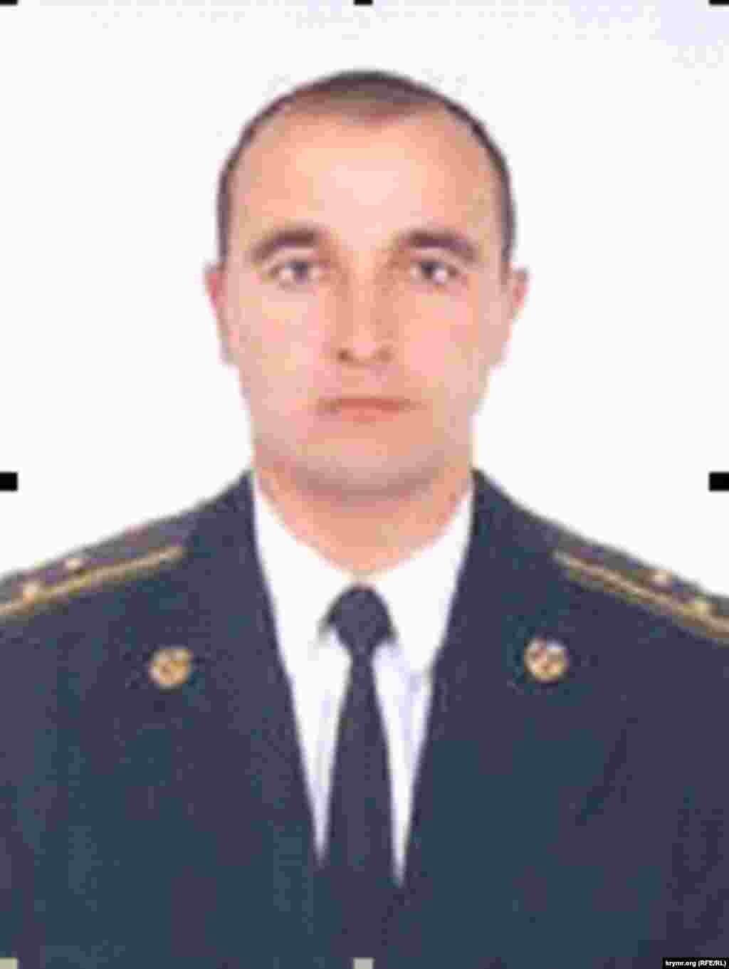Максим Сиваков, экс-старший оперуполномоченный по особо важным делам крымского главка СБУ