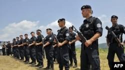Косово шекаралық полиция жасағы. 18 маусым. 2011