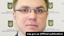 Заместитель министра информационной политики Украины Артем Биденко