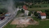 Illegal Serbian Church Demolished In Bosnia GRAB 2
