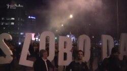 Podgorica: Dio opozicije ponovo protestovao