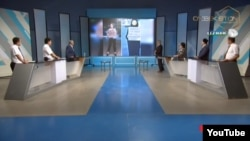 The guests on the Munosabat program were outraged by the demonstrators' slogans.