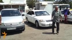 Türkmenabadyň taksiçileri