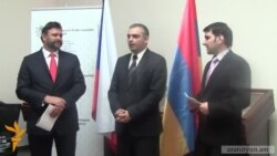 Չեխիայում անցկացվող ցուցահանդեսին հաղթած հայ պատանիները պարգևատրվեցին մրցանակներով
