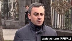Координатор «Движение за спасение отечества» Ишхан Сагателян (архив)