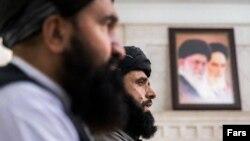 نشست خبری فرستادگان طالبان به تهران در بهمن ماه ۹۹