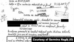 """Documentul remis Curții de Apel București în care fostul securist """"achiesează"""" la demersul CNSAS și recunoaște calitatea sa de fost ofițer al Securității"""