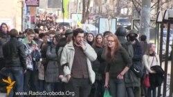 Студенти зайняли приміщення Міністерства освіти і науки