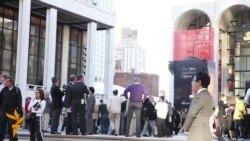 Протесты в Нью-Йорке против преследований геев в России