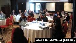 جانب من اجتماع مشاريع قوانين تخص المرأة