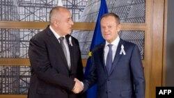 Бойко Борисов и Доналд Туск винаги са демонстрирали приятелски отношения