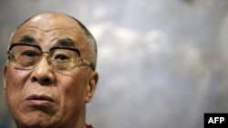 Tibet's exiled spiritual leader, the Dalai Lama