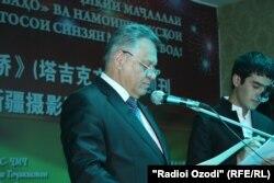 Шариф Саидов, раиси Палатаи савдои Тоҷикистон