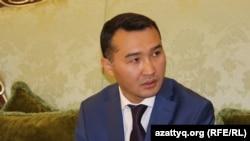 Заместитель акима Южно-Казахстанской области Сапарбек Туякбаев. Шымкент, 6 октября 2016 года.
