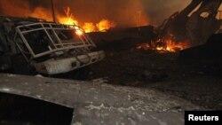 Eksplozija u tvornici đubriva u Teksasu