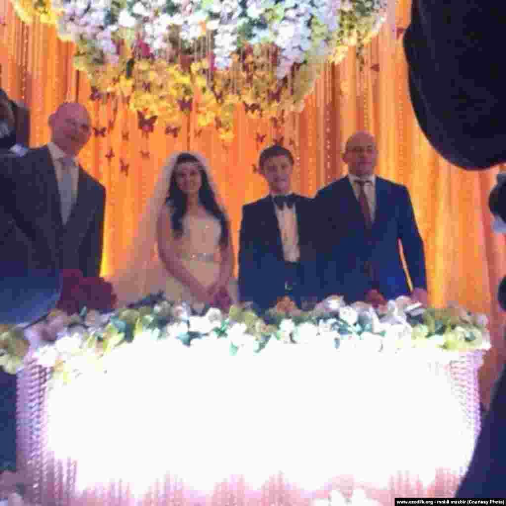 Uzbekistan - wedding party of uzbek criminal authority's granddaughter