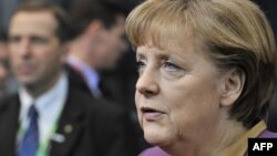 Германия канцлері Ангела Меркель. Брюссель, 1 наурыз 2012 жыл