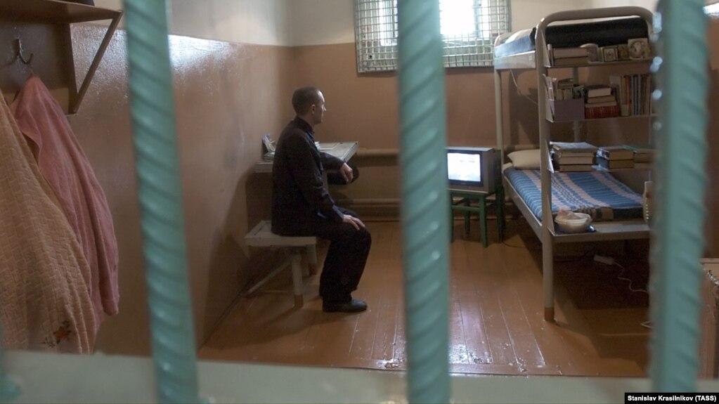 Заключенный колонии в селе Сосновка, Мордовия. Архивное фото