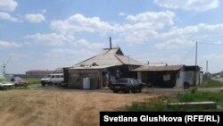 Дом в поселке Ондирис. Астана, 24 июня 2014 года.