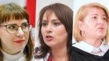 Вольга Кавалькова, Ганна Канапацкая і Натальля Кісель