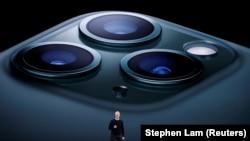 Тім Кук презентує новий iPhon 11 Pro, 10 вересня 2019 рік