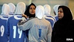 تیم فوتسال بانوان ایران. (عکس: ایسنا)