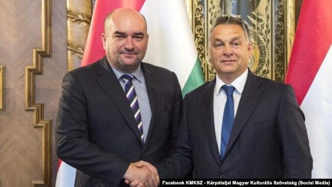 Brenzovics László Orbán Viktor magyar miniszterelnökkel