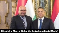 Васил Брензович со унгарскиот премиер Виктор Орбан