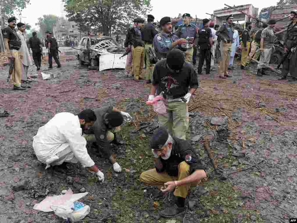 В Пакистане в результате атаки террориста-смертника погибли 4 человека
