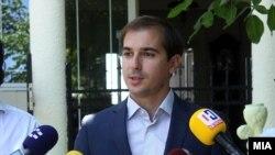 Архивска фотографија- Заменик-министерот за труд и социјална политика Диме Спасов