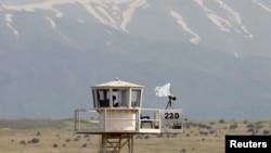 Набљудувачка кула на ОН во Висорамнината Голан