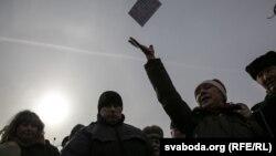 Акция протеста в Витебске